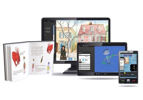 Scéalprod, atelier d'écriture en ligne pour apprendre à raconter des histoires, livre audio, espace lecture