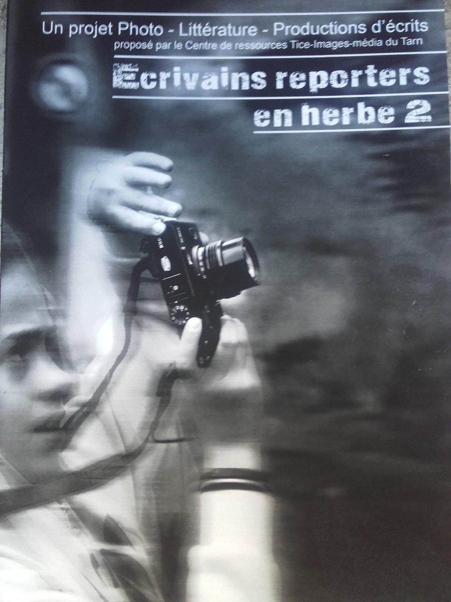 Ludovia, Ecrivains reporters en herbe. Centre de ressources Tice-images-média du Tarn, académie de Toulouse