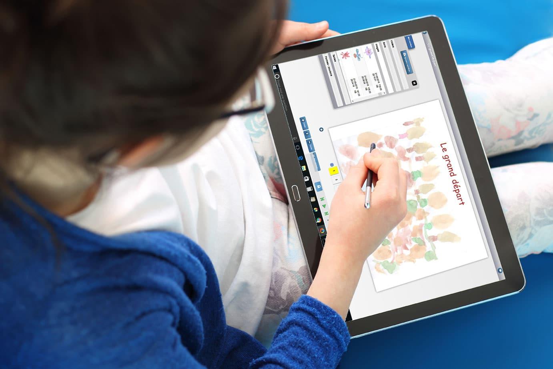 Créez vos contenus multimédias et interactifs pour enseigner