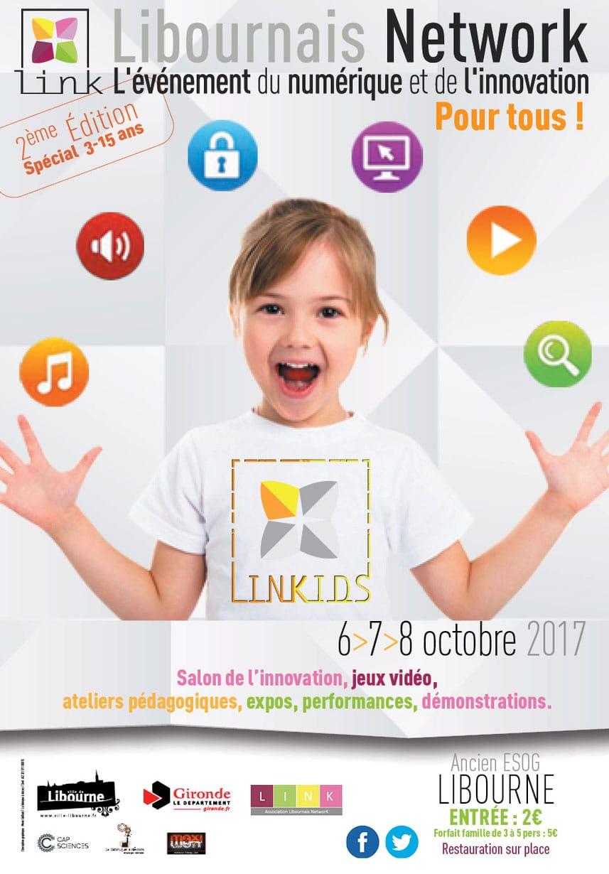 Salon Linkids, Libourne, numérique et innovation pour enfants
