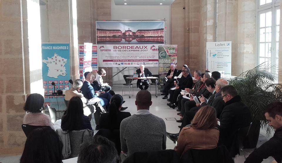 Convention Europe Afrique du Nord à Bordeaux, en partenariat avec le cluster EdTech Nouvelle Aquitaine