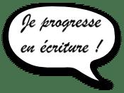 Scéalprod, Je progresse en écriture et en français !