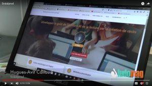 Présentation vidéo de scealprod.fr et de Scéal studio, salon eduSpot France 2018