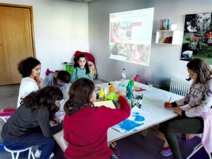 Atelier d'écriture en ligne scealprod.fr, Coin tipi