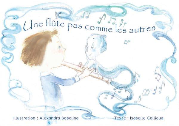Une flûte pas comme les autres, livre à personnaliser pour enfants de 2 à 5 ans, Scéalprod
