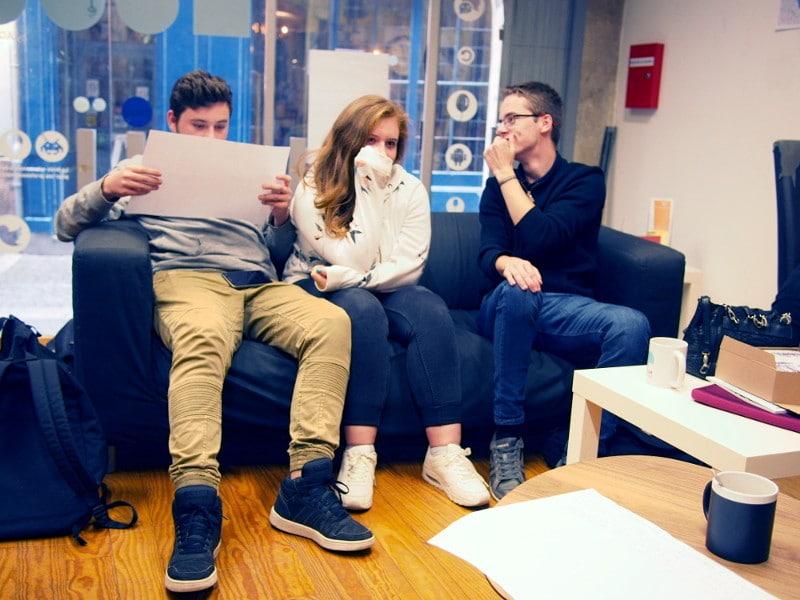 Atelier d'écriture avec animateur Scéal studio