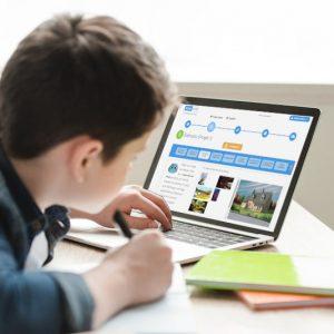 Scéal studio, atelier d'écriture en ligne pour les 8-16 ans